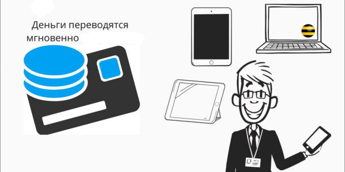 Переведение денег с телефона на банковскую карту